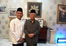 Abdul Aziz Khafia dan Ma'ruf Amin