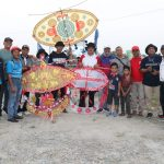 Kadis Pariwisata Kota Medan Agus Suriono membuka festivaal layang-layang