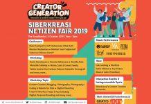 Kemenkominfo Gelar Siberkreasi Netizen Fair 2019