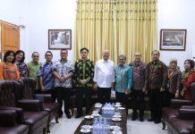 Wali Kota Medan, Dzulmi Eldin menerima kunjungan Direksi RSUP H Adam Malik