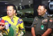 Bambang Soesatyo dan Dr Terawan usai menjenguk Menko Polhukam Wiranto di RSPAD Gatot Subroto