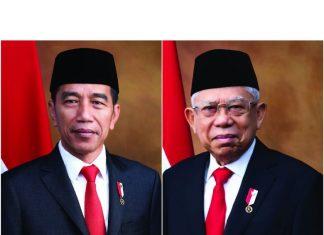 Jokowi-Ma'ruf Amin Berjas