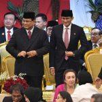 Prabowo-Sandi Kompak Hadiri Pelantikan Jokowi-Ma'ruf Amin
