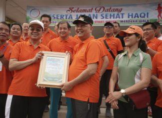 Wali Kota Medan Lepas Jalan HaQi