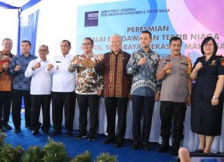 Wakil Wali Kota Medan Akhyar Nasution Bersama Wagub Sumut dan Menteri Perdagangan