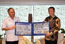 Bambang Soesatyo bersama Heru Winarko
