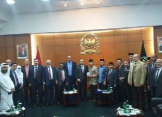 Anggota IIF Bersama Wakil Ketua MPR Hidayat Nur Wahid