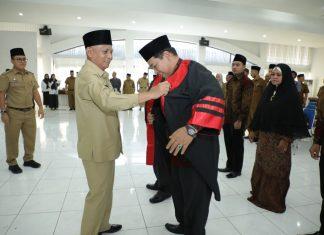 Bupati Asahan Lantik Dewan Hakim Festival Nasyid