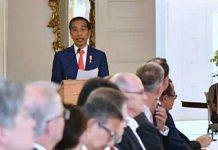 Jokowi Berbicara di Hadapan Pejabat Pemerintah Australia
