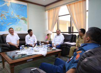 Ketua DPD La Nyalla Kunjungi Bandara Batam