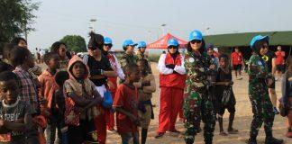 Kontingen Garuda Kenalkan Monusco di Kongo