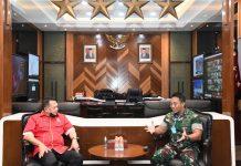 Bambang Soesatyo dan Jenderal TNI Andika Perkasa