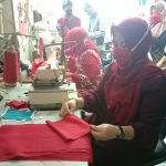 Pembuatan Masker Kain oleh UMKM