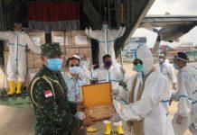 Yayasan dari Taiwan Sumbang APD ke Indonesia