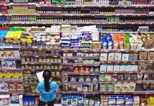 Bahan Makanan dan Minuman di Supermarket