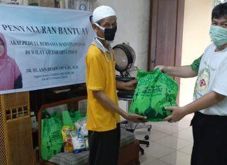 Masyarakat Wilayah Jakarta Timur Menerima Bantuan dari Anis Byarwati