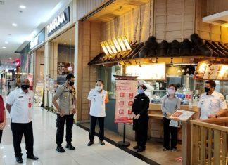 Bakwan Ferizan Ginting Tinjau Penggunaan KBRL di Pasar Atom