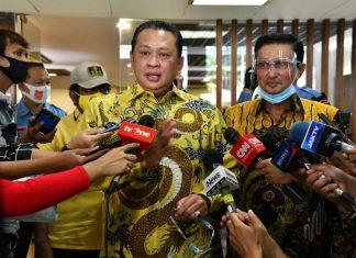 Bambang Soesatyo dan Fadel Muhammad