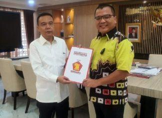 Denny Indrayana Terima Rekoemendasi Partai Gerndra Maju Pilgub Kalsel 2020