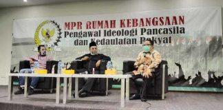 M. Nabil Haroen dan Saifullah Tamliha dalam Diskusi Empat Pilar MPR