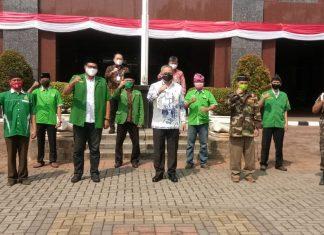 PC GP Ansor Bersama Wali Kota Jakpus