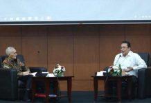 Try Sutrisno bertemu Bambang Soesatyo Membahas soal RUU HIP