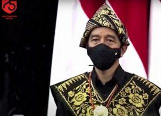 Jokowi Pidato di Sidang Tahunan