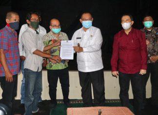 Akhyar Nasution Berkomitmen Lahan TBSU untuk Kesenian dan Kebudayaan