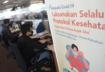 Aktivitas di Kantor saat PSBB