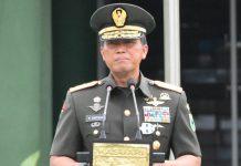 Pangdam XVIII Kasuari Mayjen TNI I Nyoman Cantiasa