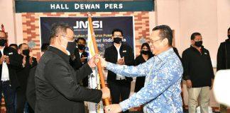 Bambang Soesatyo Melantik Pengurus Pusat JMSI