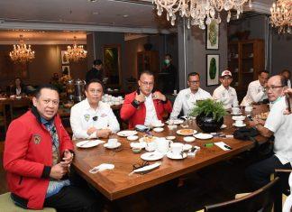 Bambang Soesatyo bersama Tim Mandalika Bahas Moto2