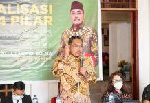 Jaziul Fawaid Sosialisasi Empat Pilar di Manado