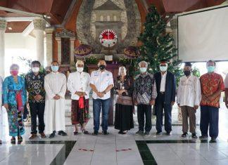 Bambang Soesatyo Bersama Tokoh FKUB Bali