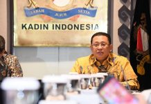 Bambang Soesatyo dalam diskusi di Gedung Kadin