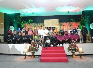 El Nino dan Siti Fauziah dalam sosialisasi empat pilar