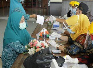 TP PKK Kabupaten Asahan Gelar Rapid Test