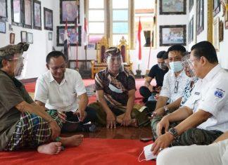 Bambang Soesatyo Bamsoet Melayat Jenazah Putra Raja Klungkung Bali Tjokorda Gede Agung