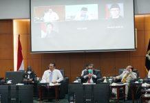Bambang Soesatyo Bersama Pimpinan MPR Rapat Rancangan PPHN