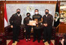 Bambang Soesatyo Menerima Pengurus Putra-Putri Polri