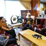 Bambang Soesatyo Menerima Sejumlah Pembalap Nasional