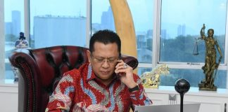 Bambang Soesatyo Menerima Telepon dari Ketua Parlemen Turki H.E. Mr. Mustafa Sentop