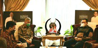Bambang Soesatyo bertemu Duta Besar Amerika Serikat untuk Indonesia, H.E. Mr. Sung Yong Kim