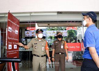Irwandi Sidak PSBB di Salah Satu Wilayah di Jakarta Pusat