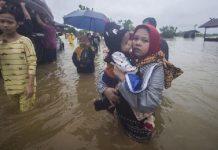 Warga di Kalsel Mengungsi Akibat Banjir
