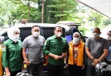 Bambang Soesatyo Lepas Bantuan untuk Korban Banjir di Bekasi