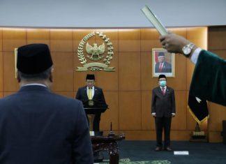 Bambang Soesatyo Melantik Anggota PAW MPR Fraksi Gerindra