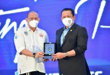 Bambang Soesatyo bersama Perwakilan IMI DKI Jakarta