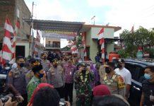 Irjen Pol Rudy Heriyanto Adi Nugroho Kunjungi Kampung Pancasila