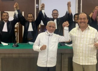 Pasangan Surya-Taufik Menangkan Gugatan Pilbup Asahan di MK